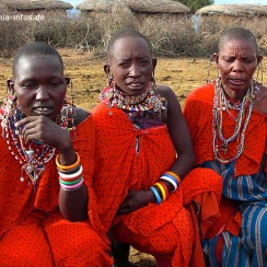 Masai Frauen in Kenia