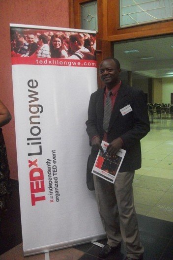Marcel at TEDxLilongwe2