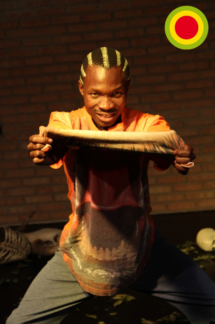 "Mbene in ""The Story of the Tiger"", 2013"